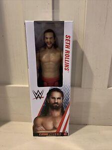 "WWE 12"" Seth Rollins Action Figure True Moves Mattel Life-Like Posing"