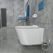 Spülrandloses Wand Hänge WC Spülrandlos Toilette softclose WC-Sitz KB80-1