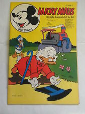 Micky Maus 1971 Nr. 41 mit MMk-Zeitung mit Sammelbild Ehapa Walt Disney KR-P