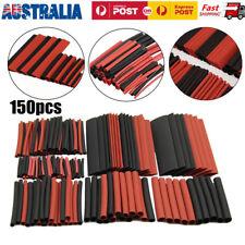 150pcs 2:1 Polyolefin Heatshrink Tube Tubing Sleeving Heat Shrink Tube Sleeving