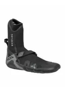 Women's 5MM XCEL DRYLOCK Round Toe Wetsuit Boots Size 7 - Celliant Black
