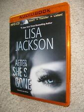 After She's Gone - MP3 CD By Lisa Jackson.