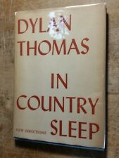 1952 In Country Sleep and other poems by Dylan Thomas A New Directions Book