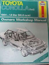 Haynes Toyota Corolla(FWD) 1984 199l Owners Workshop manual
