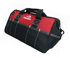 Husky 18 In. Tool Bag Storage Organizer With Dual-zipper Top Shoulder Strap