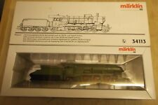 Märklin H0 34113 Würtembergische Tender Locomotive Class C Delta Digital Boxed