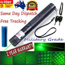 Military Laser Pointer Star Visible Beam Lazer + Free Battery 900mile Strength