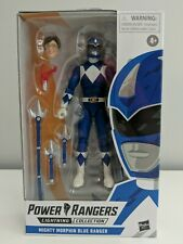 Power Rangers Lightning Collection - Mighty Morphin Blue Ranger - Action Figure