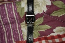 Men's Tommy Hilfiger Designer Watch Multi Dial Black Leather Strap Genuine