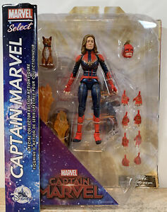 Diamond Select 2019 MCU CAPTAIN MARVEL Avengers Disney Store Figure 7""