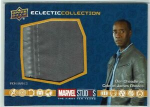 Marvel Studios First Ten Years Eclectic Collection Costume Card EC31 Don Cheadle