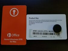 Microsoft Office Home & Business 2016 Product Key Card,SKU W6F-00501,Retail,Mac