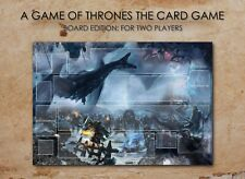 A GAME OF THRONES LCG BOARD GAMEBOARD CCG PLAYMAT LIVING CARD GAME 2 PLAYERS