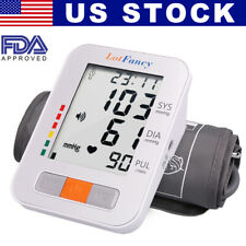 Digital Smart Arm Blood Pressure Monitor Heart Rate Machine Medium BP Cuff Meter