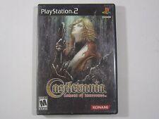 Castlevania Lament of Innocence Sony PlayStation 2 PS2