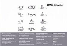 ORIGINALE BMW LIBRETTO DI SERVIZIO libretto degli assegni Libretto Ispezione 5er e39 e60 e61 e63