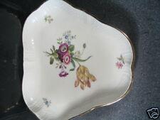 """Royal Copenhagen Frijsenborg 910 Relish Dish Platter 8"""" X 9"""""""