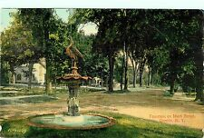 Fountain on Main Street, Oneida Ny