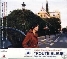 """make the style volume 2 """"ROUTE BLEUE"""" Selected by Clementine - Japan CD - NEW"""