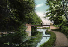 Weston Cliff near Derby. The Bridge by Valentine's # 48733. Canal.