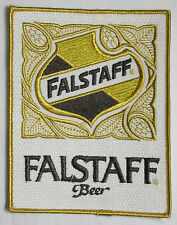 "Patch Large Falstaff Beer 4 3/4"" by 6"" vintage Breweriana New Old Stock NOS"