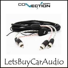 Conexión Audison bt2-550 - 5,5 M Rca Amplificador de coche Phono conduce