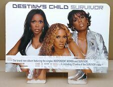 "Destiny'S Child ""Survivor"" Australia Promo Record Bin Display / Stand Up Divider"