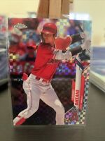 2020 Topps Chrome XFRACTOR PARALLEL #21 Shohei Ohtani  Anaheim Angels