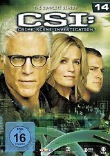 6 DVDs * CSI : LAS VEGAS - SEASON / STAFFEL 14 # NEU OVP §