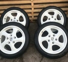 "PORSCHE BOXSTER 986 ALLOY WHEELS   986 17"" BOXSTER TWIST ALLOYS  T451XBX AS"