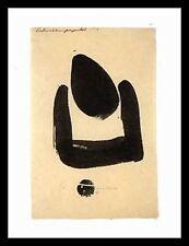 Julius Bissier 37 fecondazione icona i cista poster stampa d'arte quadro & 80x60cm