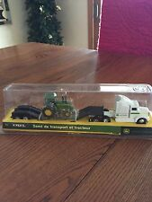 John Deere Kenworth Semi Tractor-Trailer with JD 4430 or 4440 Tractor by ERTL