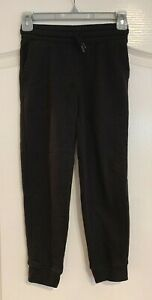 Boy's OLD NAVY Black Stretch Pull On Casual Jogger Sweatpants Pants M 8