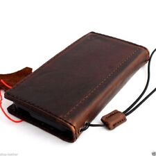 genuine leather case fit iphone 5 5s5c book wallet flip pouch handicraft cover c