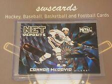 New listing 2020-21 Skybox Metal Universe Net Deposits #ND-19 Connor McDavid