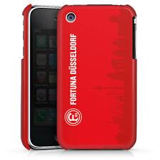 Apple iPhone 3Gs Premium Case Cover - Silhouette Stadt Rot