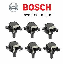 BMW 323Ci 325i 325xi 530i Z3 Set of 6 Ignition Coil without Spark Plug Connector