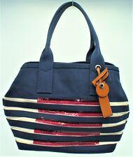e1f34ff2d98c NWT Marc Jacobs Tropez Tote Handbag Purse Shoulder Canvas Red White Blue  Womens