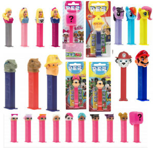 Pez sweets candy dispenser sweets kids character party bag NOVELTY gift