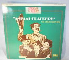 Laserdisc {U} * Animal Crackers * 4 Marx Bros. Groucho Marx Harpo Marx