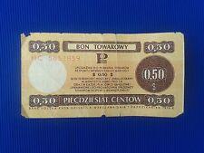 Poland - Bon towarowy Pekao 0,50$ - 1979..