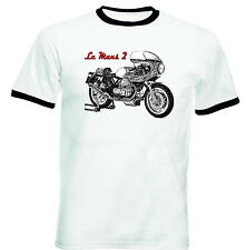 MOTO GUZZI LE MANS 2 Inspiré-Neuf Coton T-Shirt-Toutes les tailles en stock