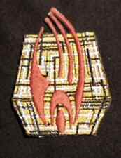 "Star Trek Borg Cube Logo  2.75"" Patch- Lincoln Ent- FREE S&H (STPAL-032)"