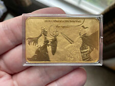 🌟2020 KOMSCO South Korean Chiwoo Cheonwang 1oz .999 Gold Bar   The Square