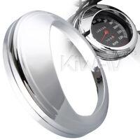 """Speedometer gauge bezel cover trim ring visor for 5"""" Harley-Davidson bikes"""