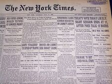 1930 JULY 19 NEW YORK TIMES - HINDENBURG CLOSES REICHSTAG - NT 3900