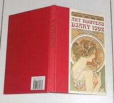 Art Nouveau Diary 1992 Diary Agenda Liberty the Victoria and Albert Museum