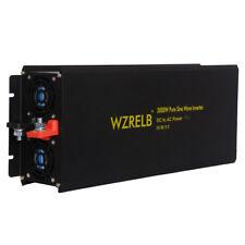3000W Pure Sine Wave Inverter 12/24/48V to 120/220V Car Power Inverter Converter