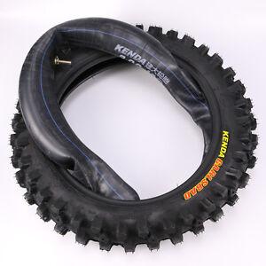 3.00-12 80/100-12'' Tyre Tire &Inner Tube Set For Honda CRF70 XR70 Pit Dirt Bike