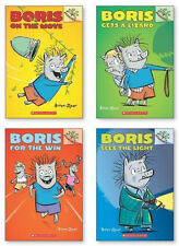Boris Gets a Lizard,On the Move,Sees Light, For Win (pb) Andrew Joyner 4 Bks NEW